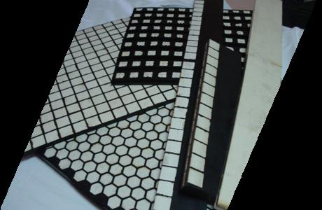 Gumeno keramički brisači transportnih traka
