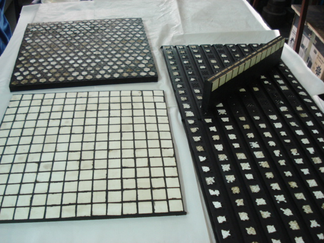 Gumeno keramičke ploče otporne na habanje