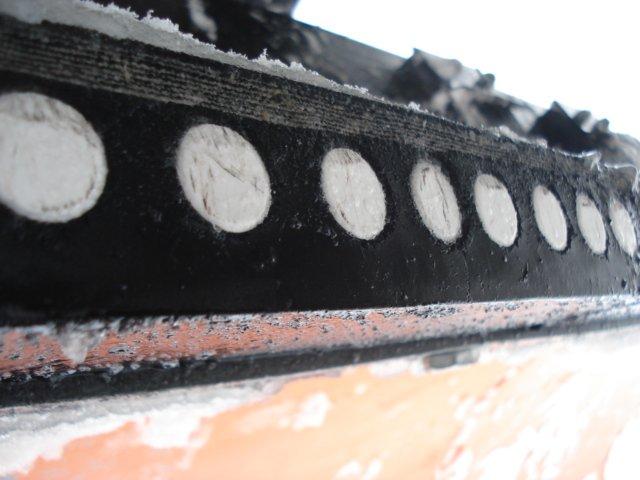 komunalna oprema - gumeno keramički noževi ralica za snijeg